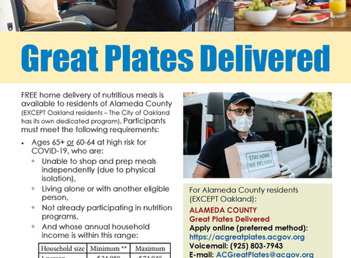 Great Plates Delivered