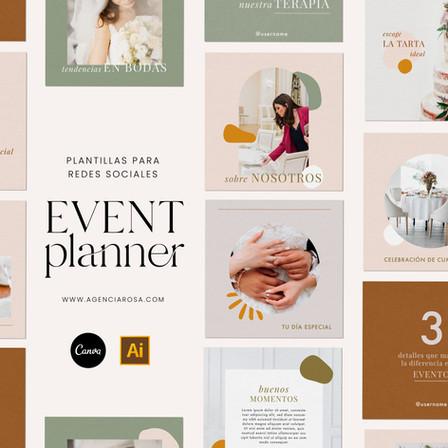 Plantillas event planner