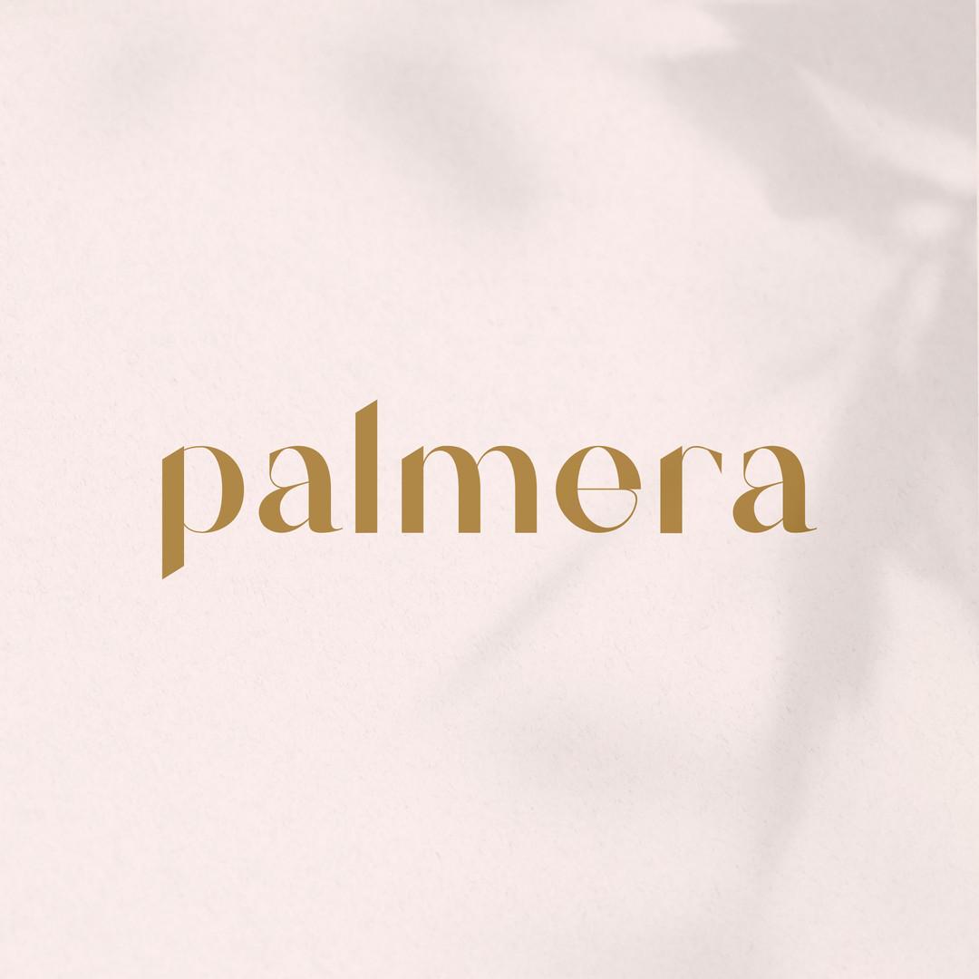 Tipografía Palmera