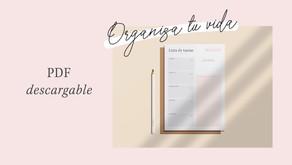 ¡Descarga este freebie de lista de tareas!