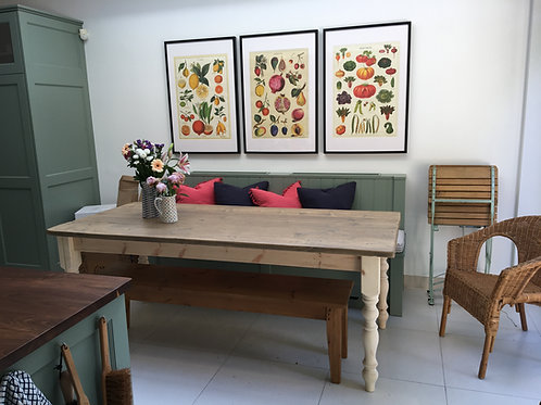 The Original Rustic Shabby Chic Dining Table