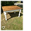Thumbnail: Minature The Original Rustic Shabby Chic Dining Table