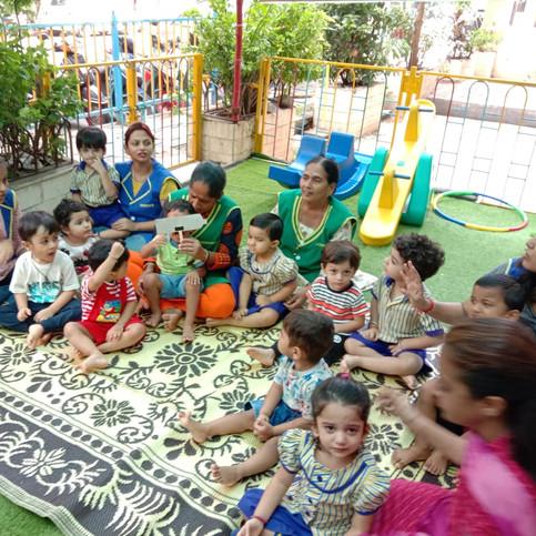 playgroup kids activity