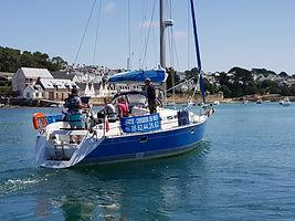 Partir en mer sur un voilier avec un skipper pro