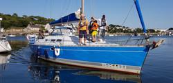 Voilier Atlantis- bateau Audierne