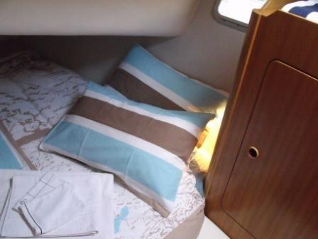 cabine double voilier Atlantis