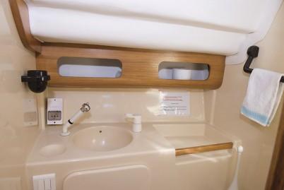 Salle de douche- wc marin -voilier Atlantis