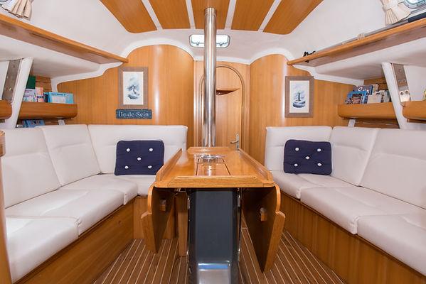 Carré d'équipage voilier Atlantis