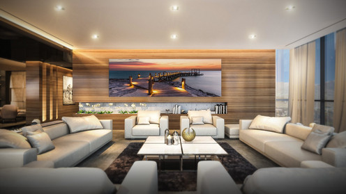 Secluded Escape Living Room