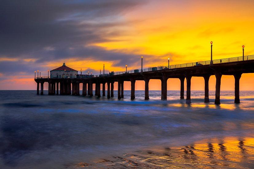 Manhatten Sunset Pier