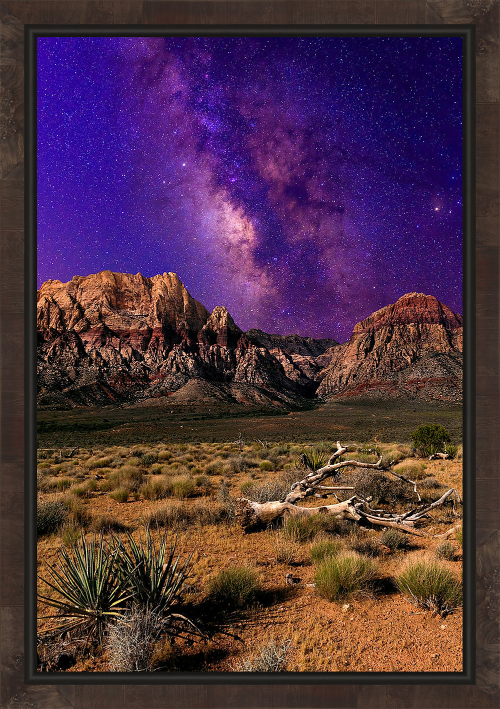 Milky Way over Red Rock Canyon