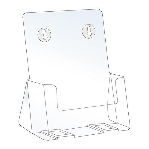 "Acrylic Brochure Holder - 6.25""W x 8.5""H"