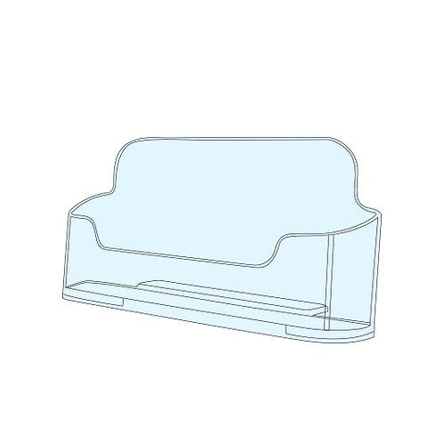 Acrylic Business Card Holder - Single Bay