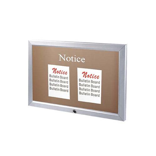 Locking Bulletin Board - Outdoor