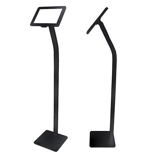 Floor Standing Ipad Stand - Black