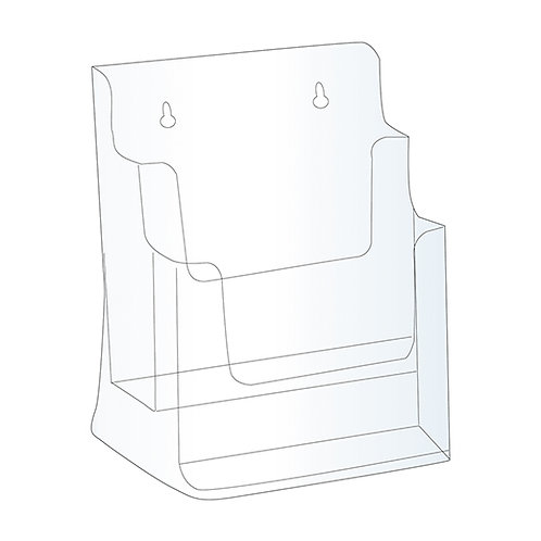 "Acrylic Brochure Holder - 8.5""W x 11""H"