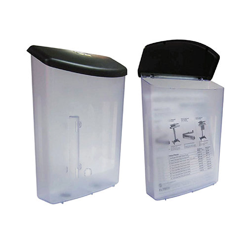 Acrylic Outdoor Literature Box With Lid