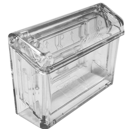 Acrylic Outdoor Business Card Holder With Lid