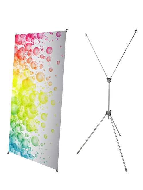 Adjustable X Banner Stand