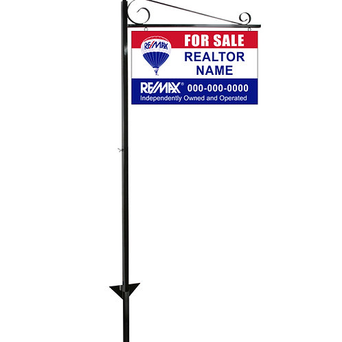 Lawn Sign Post