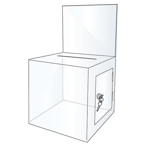 Acrylic Ballot Box - BBOX002