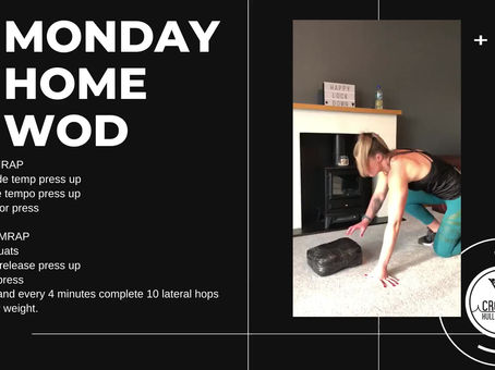 Monday 04th May 2020 - Home WOD