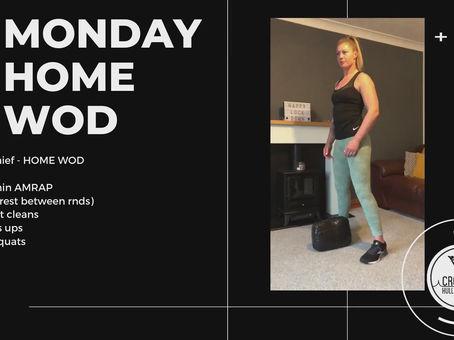 Monday 27th April 2020 - Home WOD