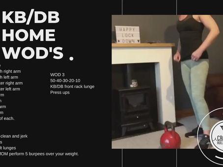 Week 6 - KB/DB WODs
