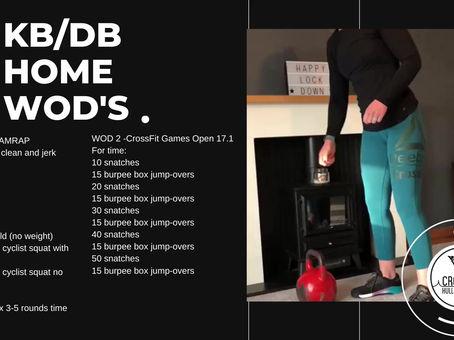 Week 7 - KB/DB Home WODs