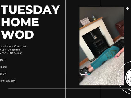 Tuesday 05th May 2020 - Home WOD