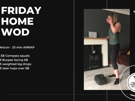 Friday 17th April 2020 - Home WOD
