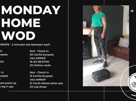 Monday 20th April 2020 - Home WOD