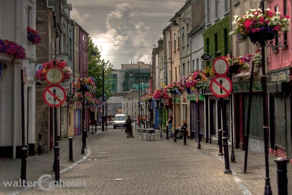 Street in Waterford, Ireland
