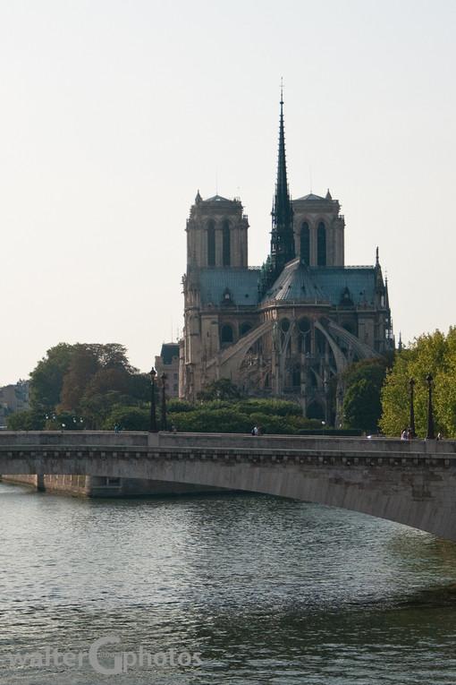 Notre Dame and Pont de l'Archeveche