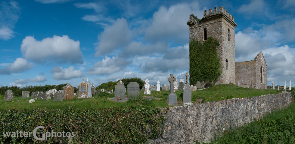 Templetown Abbey and Graveyard, Ireland