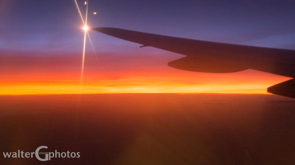 Sunrise over Africa