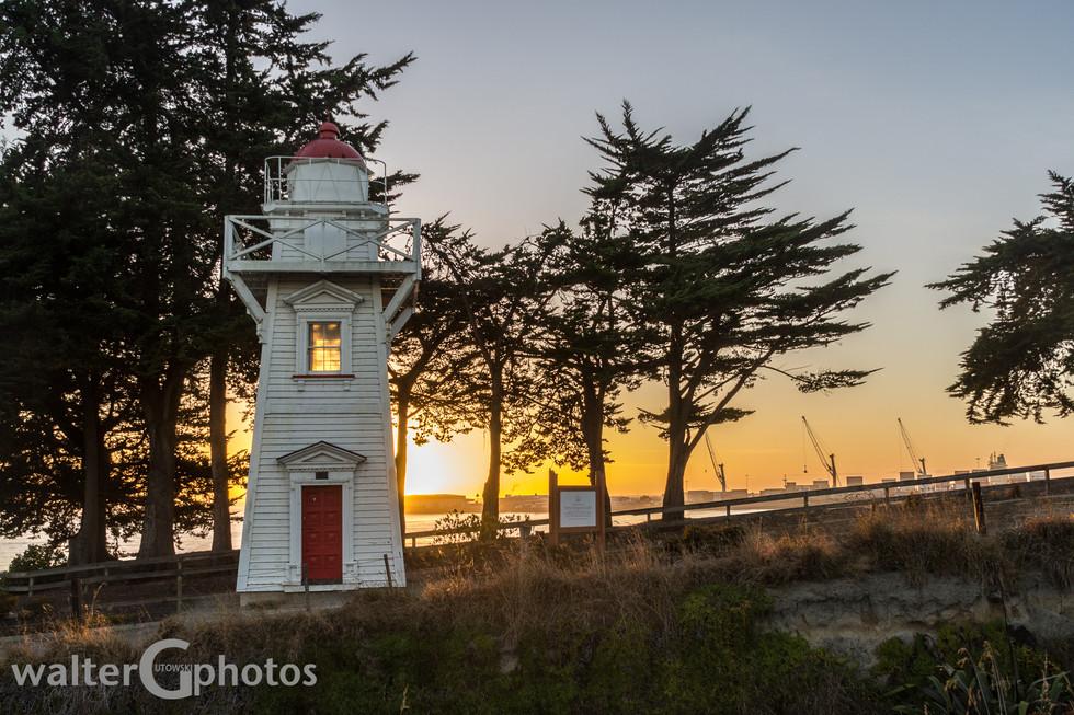 Sunrise at Timaru, New Zealand