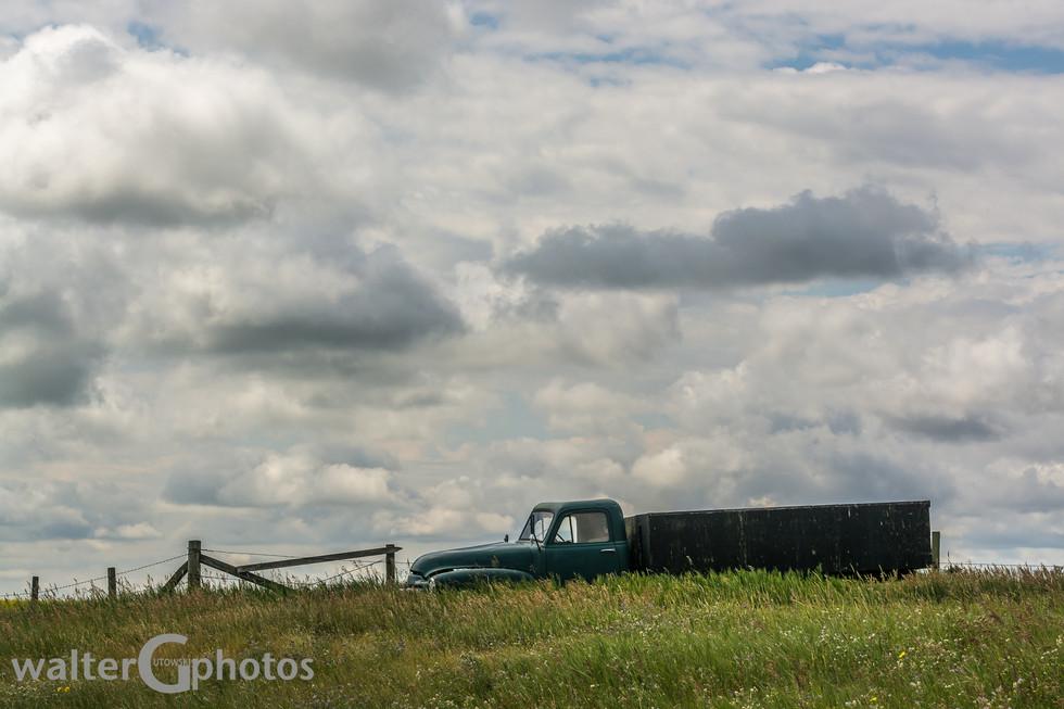 Antiwue farm truck