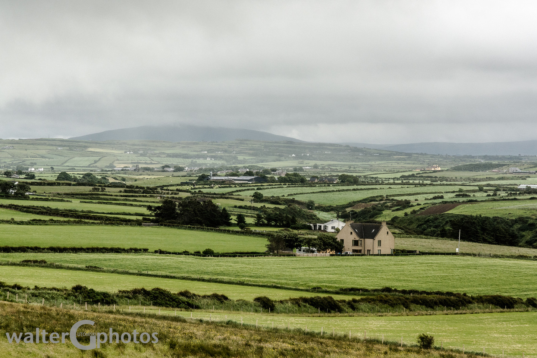 Landscape near Bushmills, Northern Ireland