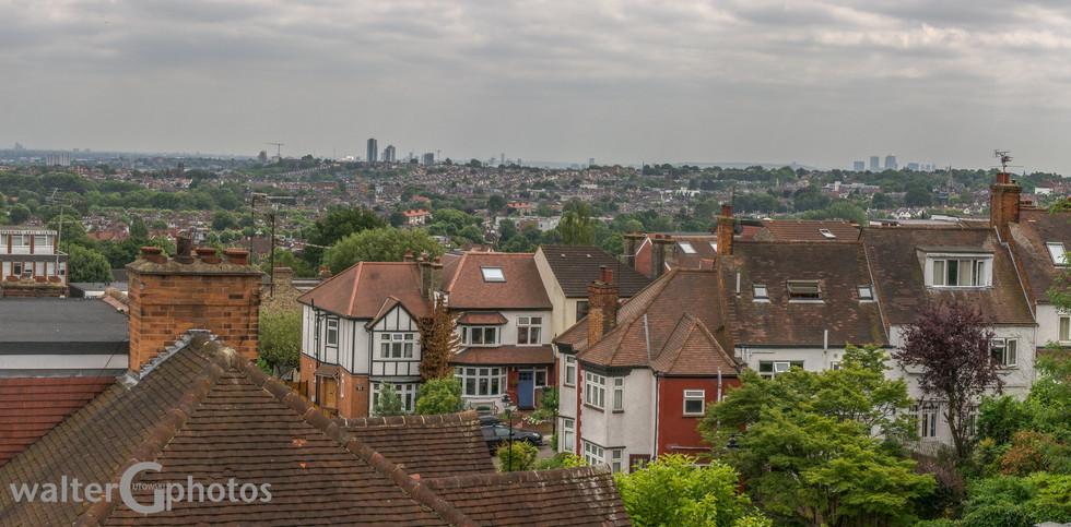 London Cityscape, London, England