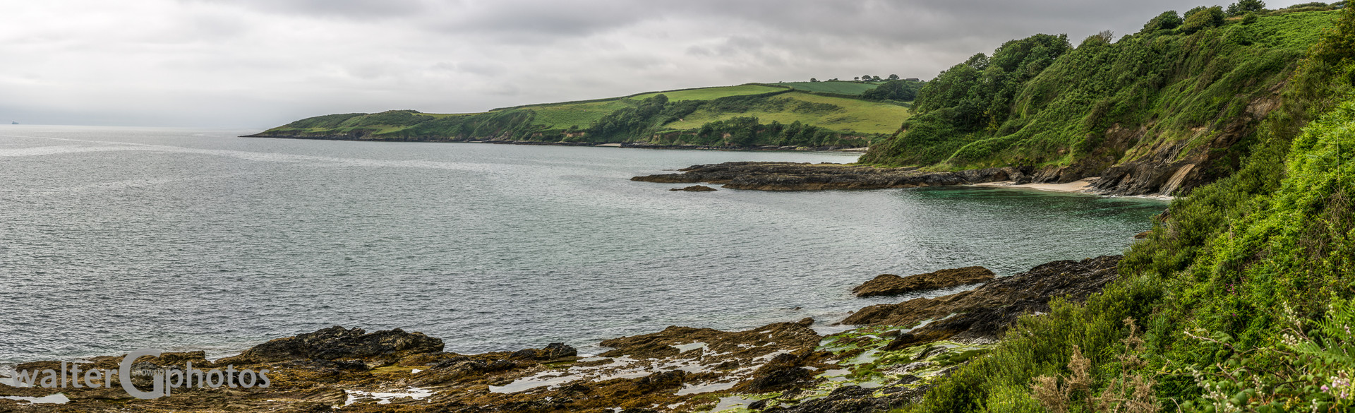 Falmouth coastline, Cornwall, England