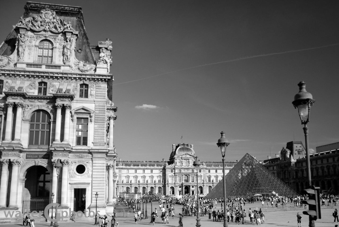 Louvre Courtyard, Paris, France
