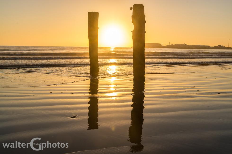 Sunrise, Caroline Bay, Timaru, New Zealand