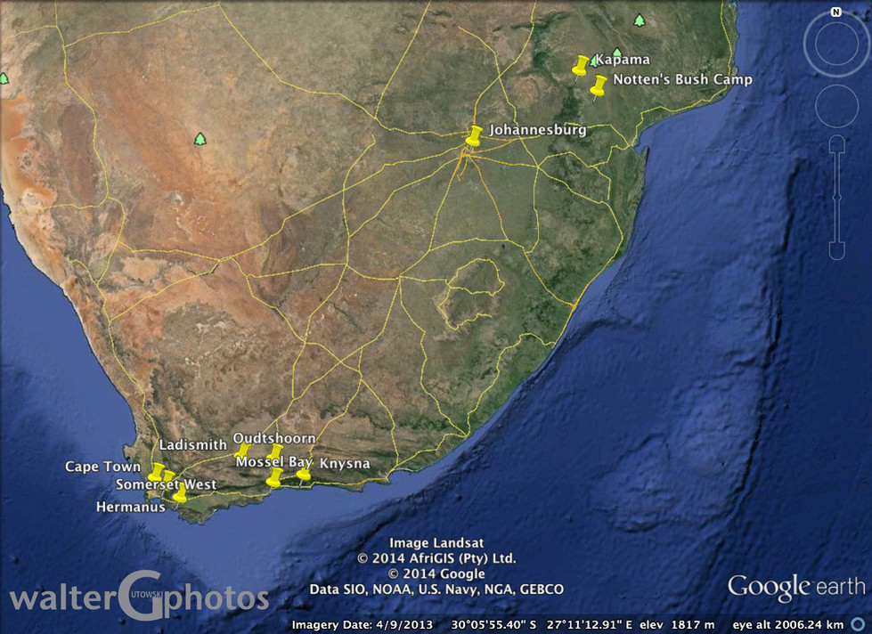 South Africa Sites