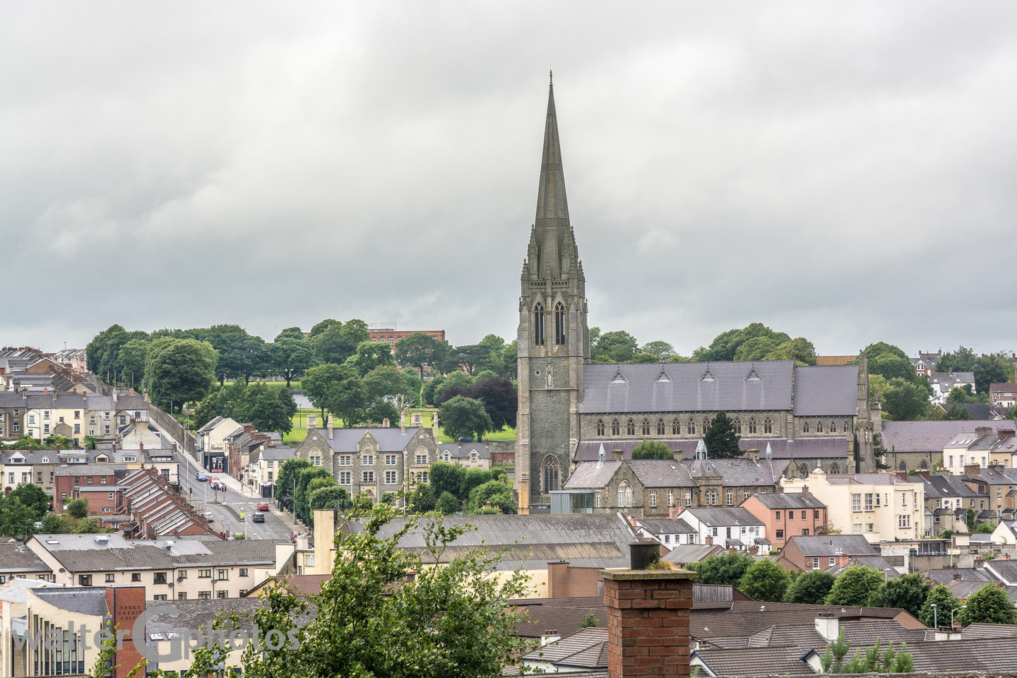 St Eugene's Cathedral, Derry (Londonderry), Northern Ireland