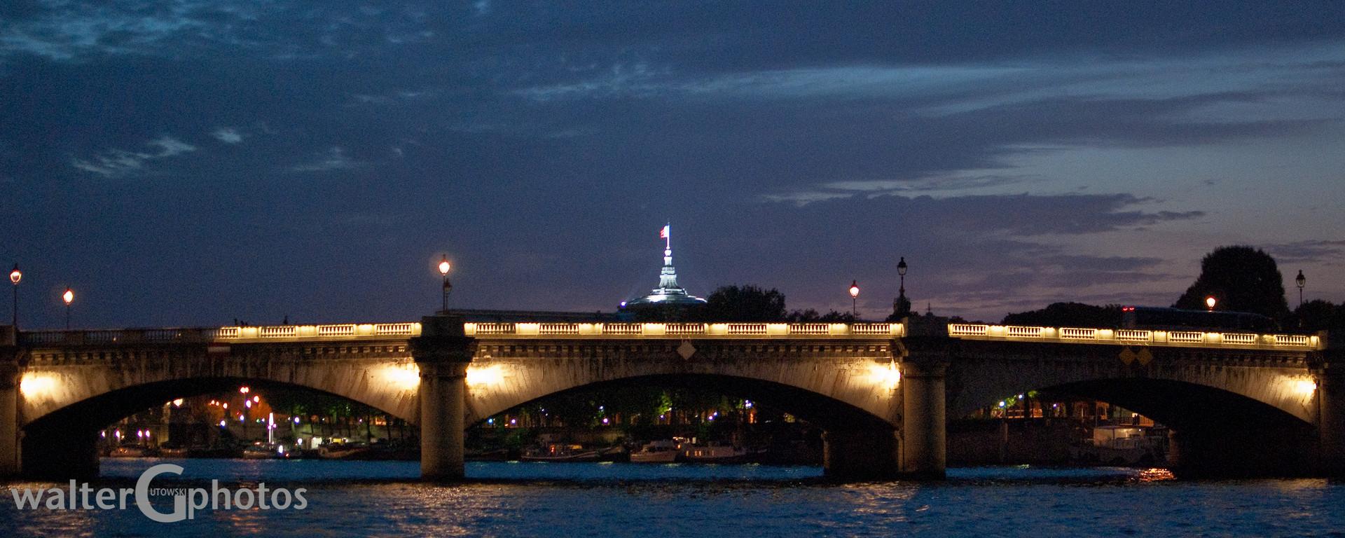 Concorde Bridge, Paris, France