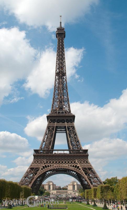 Eiffel Tower with Palais de Chaillot