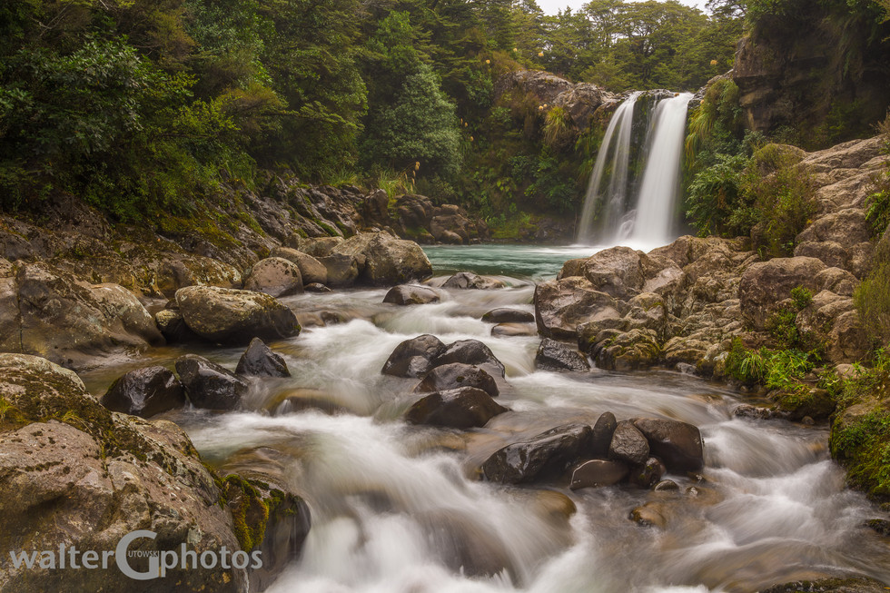 Tawhai Falls, NI, New Zealand