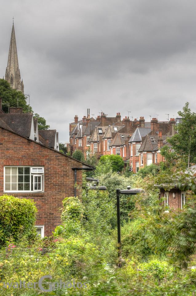 More of London cityscape, England
