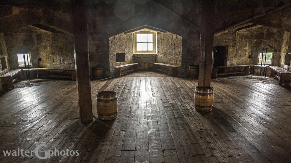Storage room, Pendennis Castle, Falmouth, England